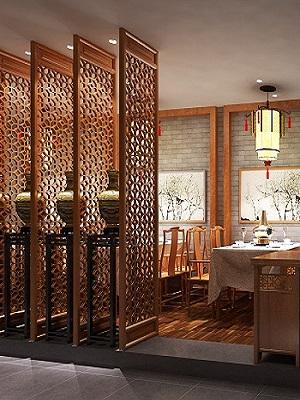 中式餐馆装修设计案例